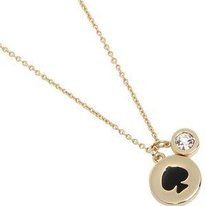 Kate Spade spot the Spade gold necklace
